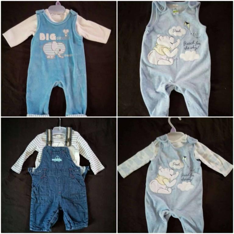 Új márkás 13db-os szett kisfiú ruhacsomag eladó 0-6hó! A ruhák újonnan 03e9d9ab1d