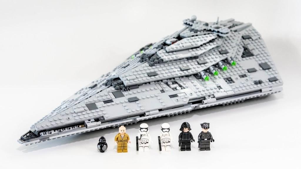 Lego kompatibilis, Star Wars, Első rendi Csillagromboló, First Order Star Destroyer, új Az építőjátékot eredeti doboz nélkül, zacskózva, összerakási útmutatóval együtt adom. Tudom postázni ill Foxpost-tal küldeni. Mindkettőnél lehetséges az utánvétel is. Foxpost esetén nincs postaköltség. - 2