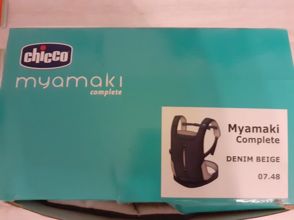 Chicco Myamaki hordozó,teljesen új,ajándékba kaptuk. - 1