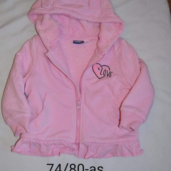 7480 as csinos, bélelt átmeneti kislány kabát Kabátok