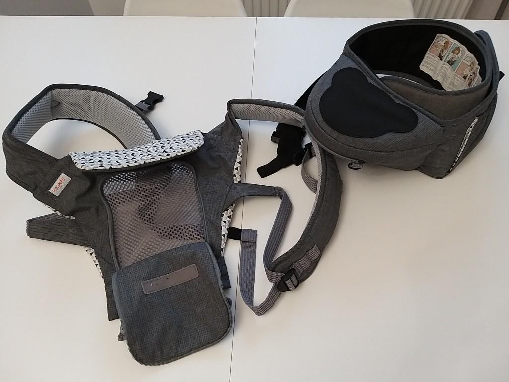 Eladó használt,de megkímélt, tiszta állapotban lévő hordozó,ami külön csípőülőkeként is használható akár 36 hónapos korig. Unisex színben és mintával. - 0