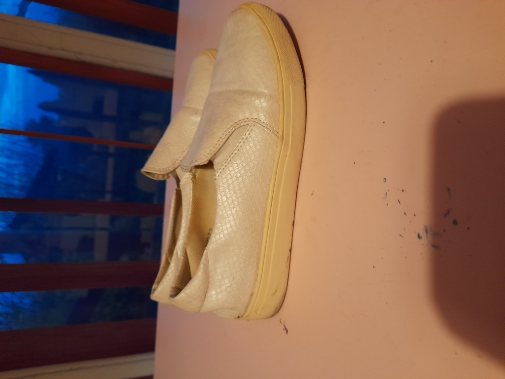 Papucscipő 36-os fehér eladó - 0