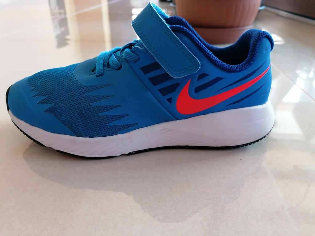 Eladó a képen látható, keveset használt eredeti Nike sportcipő. - 2