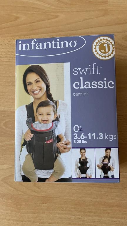 Teljesen új Infantino márkájú babahordozó csak kipróbàltuk kb 10percig.  - 0